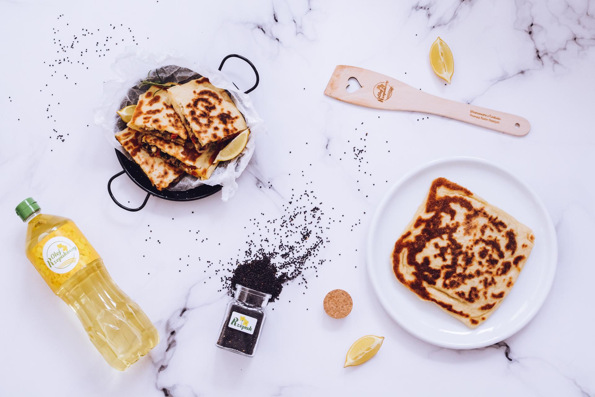 Gozleme - pyszne chlebki z patelni