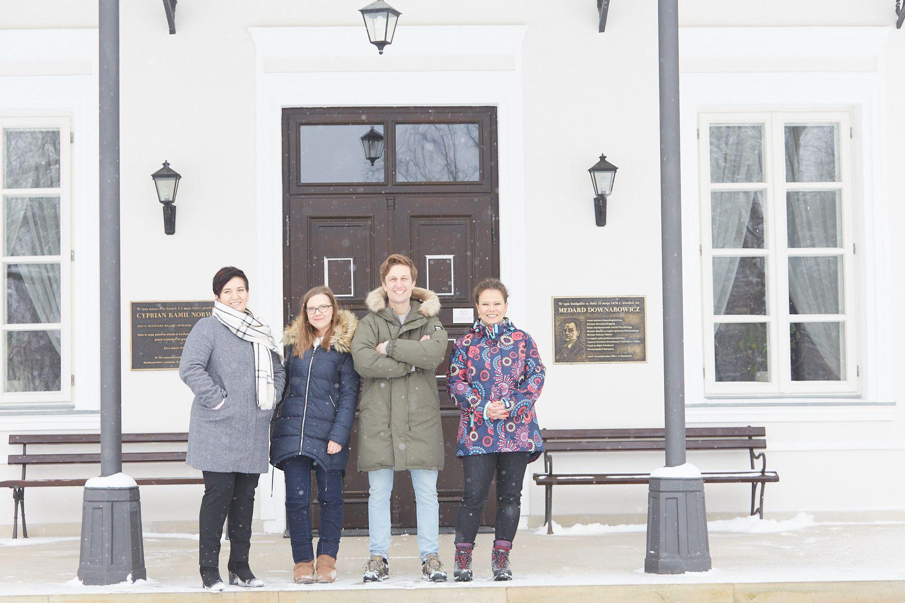 Pałac Łochów blogerki