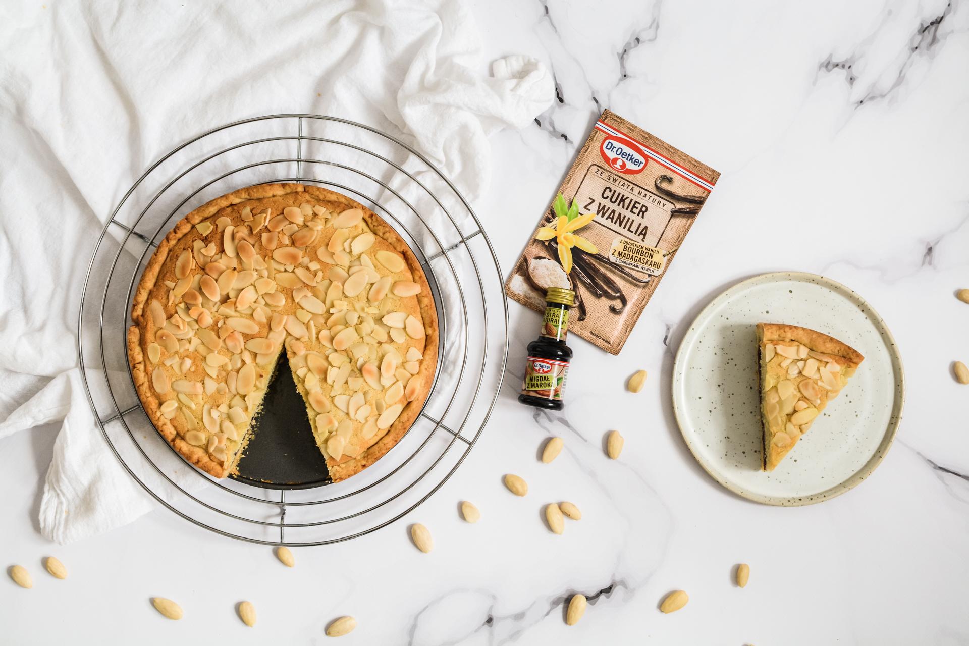 Tarta Bakewell - migdałowy mazurek 5